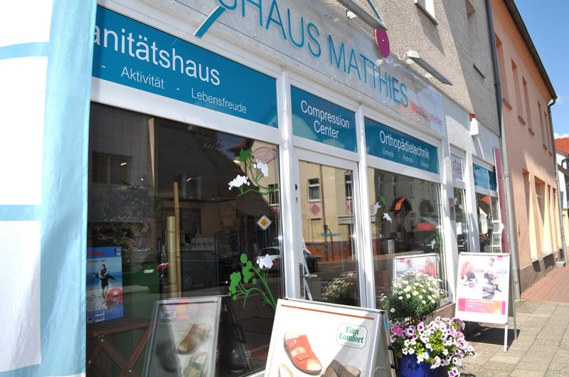 Sanitätshaus Matthies Stammhaus Liebertwolkwitz